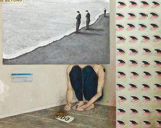 Bruno Kurru   Escolha por merecimento  2012  acrílica e resina sobre tela  80 x 100 cm