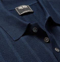 Shop men's polo shirts at MR PORTER, the men's style destination. Discover our selection of over 400 designers to find your perfect look. Polo Shirt Style, Polo Rugby Shirt, Mens Polo T Shirts, Men's Polo, Mens Fashion Sweaters, Men Sweater, Mens Designer Polo Shirts, Clothing Store Interior, Men's Sportswear