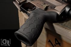 Hexmag Black Rubber Tactical  Grip in today's photo from Down Range Photography