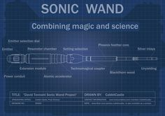 Picture of Sonic Screwdriver Wand: Doctor Who meets Harry Potter