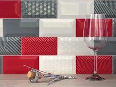 carrelage metro 7,5x15 haut de gamme rouge, noir, blanc-1erchoix ...