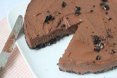 Chocolade Cheesecake met Oreobodem