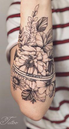 Tatuagens femininas no antebraço → 150 ideias incríveis para se inspirar | TopTatuagens