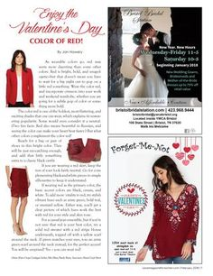 Valentine's Day colors can last all year! Red Color, The Voice, Valentines, Magazine, Colors, Day, Women, Valentine's Day Diy, Women's