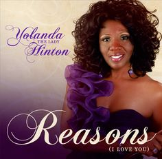 """PROUD TO ANNOUNCE """"REASONS"""" BY YOLANDA HINTON! AVAILABLE ONLINE EVERYWHERE!!"""