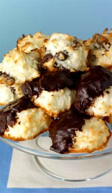 3-Way Macaroons - Be prepared: these macaroons are nothing like the hardened store-bought kind.