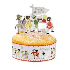 Belle and Boo Cake Frill and Toppers