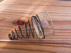 Spirale mit Teelichthalter