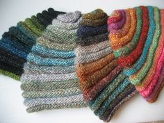 More Noro hats by cathy_mlk, via Flickr