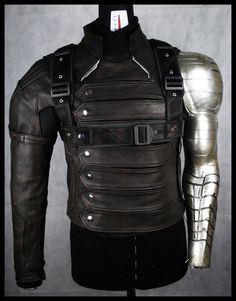 Bucky's jacket & holster (Captain America winter soldier)