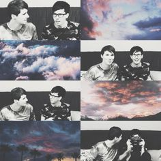 Dan and phil ✘edit is mine aesthetic