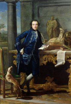 Portrait of Charles John Crowle (1738-1811) of Crowle Park, c.1761-62 (oil on canvas) by Pompeo Girolamo Batoni