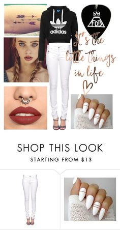 """Untitled #229"" by mariiia-hale on Polyvore featuring adidas Originals and Citizens of Humanity"