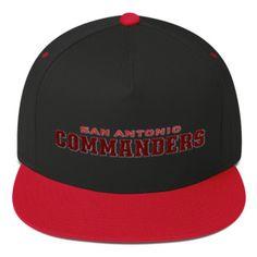 ff1b31ff8a7 AAF San Antonio Commanders Flat Bill Cap