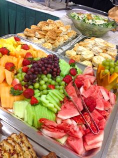 Brunch display at St. Joan of Arc