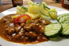 Meat Recipes, Appetizer Recipes, Chicken Recipes, Cooking Recipes, Good Food, Yummy Food, Bastilla, Czech Recipes, Pork Tenderloin Recipes