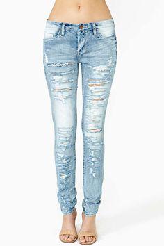 Bandana Ripped Jeans