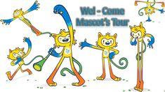 Rio2016 Olympics Mascots and Olympic Mascots History 1972-2016 Limbani B...