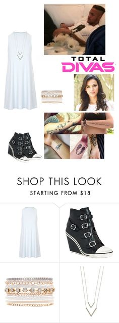 """""""Filming for Total Divas w/ Neymar ♡♡"""" by mariaxl ❤ liked on Polyvore featuring Topshop, Ash, Lane Bryant, Episode and Kat Von D"""