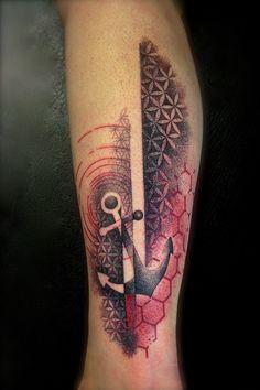Dotwork Tattoo Artist Anker