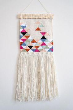 Handwoven wall hangi