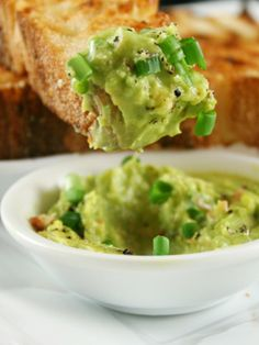 Avocado Toast - How to make it: In a small bowl, mash up half of an avocado with the juice of half a lime. Spread the mixture onto two slices of toasted whole-wheat bread. Sprinkle with one tablespoon of chopped fresh cilantro and salt and pepper to taste.