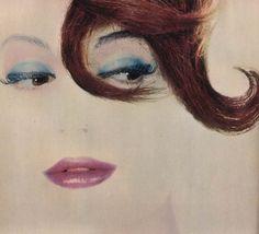 Helena Rubinstein advertisement, 1960  Photo by Erwin Blumenfeld