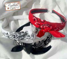 Knot bandana headband