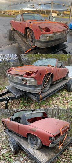 1971 Porsche 914 Appearance Package Project car Project Cars For Sale, Porsche 914, Light Covers, Projects, Log Projects, Blue Prints, Ceiling Fixtures, Lamp Shades