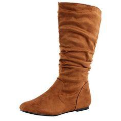 West Blvd Saigon Slouchy Mid-Calf Flat Boots