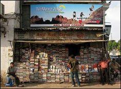 Librería en Nueva Delhi