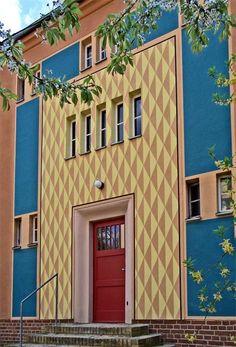 Bruno+Taut+Berlin | Bruno Taut & Heinrich Tessenow, Entrance, Gartenstadt Falkenberg ...