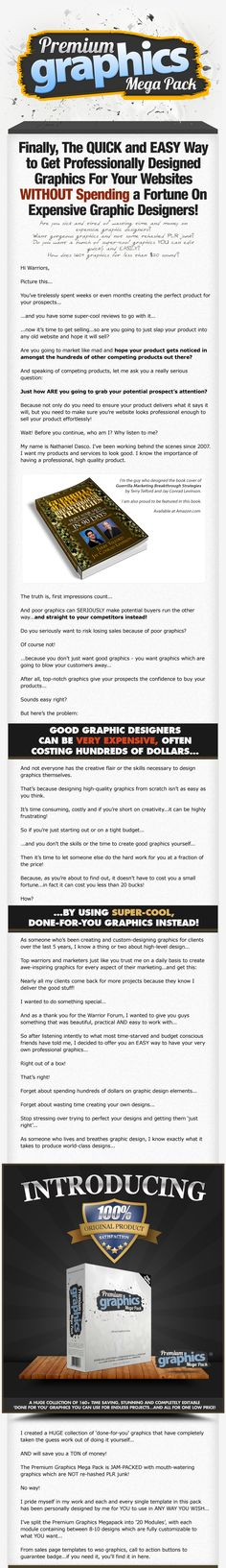 This awesome graphics package is a dimesale. Some amazing graphics for sales pages and more -