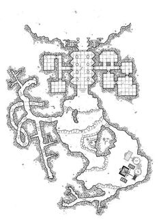 Here is the map of #mapvember challenge Day 10 : #Elevator  Kurgaz's gold mine The dwarves engineers were highly effective in the small mine of Kurgaz. A dwarf team take settels in the wheel to operate the strange machine. This machine allows a cage to go down to lower levels.