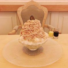 可愛さと贅沢さの極み!京都で話題沸騰中の「モンブランかき氷」が気になる