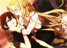 Wait, no! It's not just a game! No Kirito! It's so sad. (clears voice) Anyway, it's the real world.