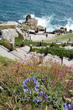 The amazing Minack Theatre, set beside the sea and part of Tintagel Castle, Cornwall, home of the leged of King Arthur. Cornwall England, England Uk, Oxford England, Yorkshire England, Yorkshire Dales, London England, Roi Arthur, King Arthur, England And Scotland