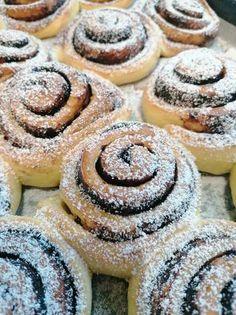 Kakaós csiga Give Thanks, Doughnut, Lime, Sweets, Baking, Hungary, Food, Cakes, Limes
