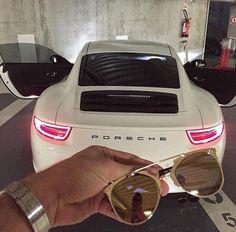Image de car, luxury, and porsche Porsche Carrera, Porsche Panamera, Lamborghini, Ferrari Car, Fancy Cars, Cool Cars, Bmw M235i, Carros Vintage, Porsche Cayenne