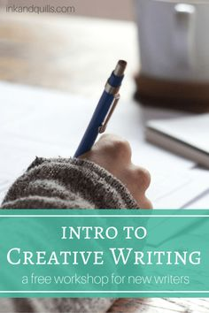 In this FREE workshop for new writers you'll be introduced to the world of novel-writing. You'll learn the writing & publishing processes, how to make a living as an author, how to find a writing community, and more! Plus, there is most definitely a free Writing Quotes, Writing Advice, Writing Resources, Writing Help, Writing A Book, Creative Writing Courses, Writing Ideas, Writing Corner, Writing Strategies