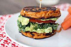 Sweet potato noodle bun! It's fabulous! Made BLTs with guacamole with them. Can't wait to make them again!