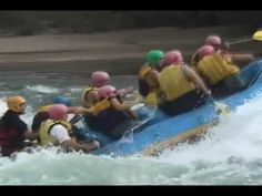 Whitewater rafting in Rio Alumine, Argentina