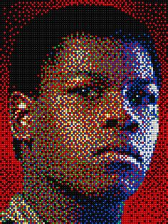 Finn - Star Wars with Pixel Art Quercetti