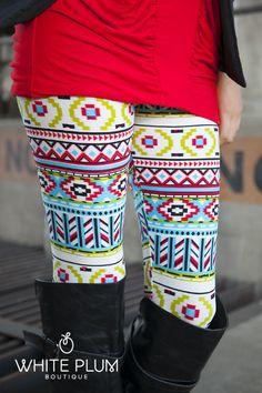 Finally found aztec leggings I like!