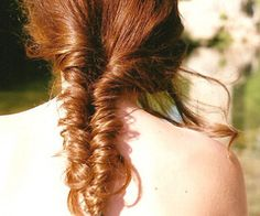 """we called that a """"fishtail braid"""" in the 80's"""