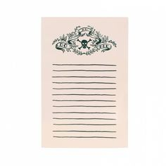 RIFLE PAPER CO. | Do or Die Notepad from Belleandblush.com