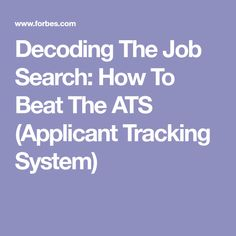 11 red flags to consider before using the wwwresumeterprocom applicant tracking system ats reverse engine ats applicant tracking system pinterest