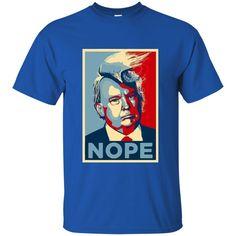 NOPE to Donald Trump, Funny Anti-Trump Tshirt, Resist, Protest, Impeach Trump Now