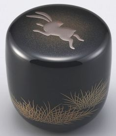 Laquerware natsume(tea container)  by Wajima Lacquerware Taiga-do