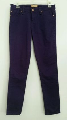 Sanctuary Jeans Denim Purple Pants Womens Size 26 #Sanctuary #SlimSkinny